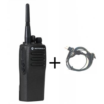 השכרת מכשיר קשר מוטורולה דיגיטלי + אוזניית קשת