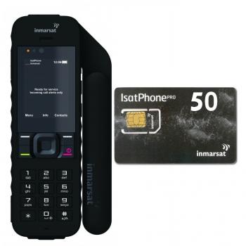 השכרת טלפון לוויני IsatPhone 2 + חבילת שיחות 50U לשבוע