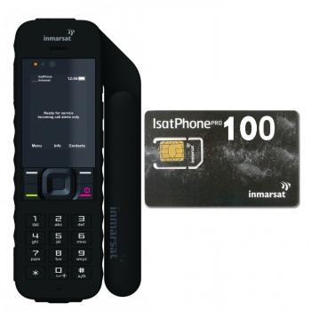 השכרת טלפון לוויני IsatPhone 2 + חבילת 10 דקות לשבוע