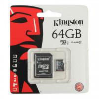 כרטיס זיכרון microSD Class 10 64G