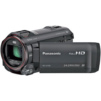 השכרת מצלמה וידאו פנסוניק FULL HD  V750