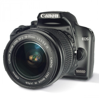 השכרת מצלמות | השכרת מצלמת SLR Canon EOS 1000D