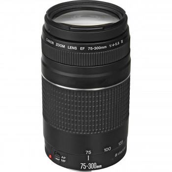 השכרת עדשה Canon 75-300mm F4-5.6 Ⅲ