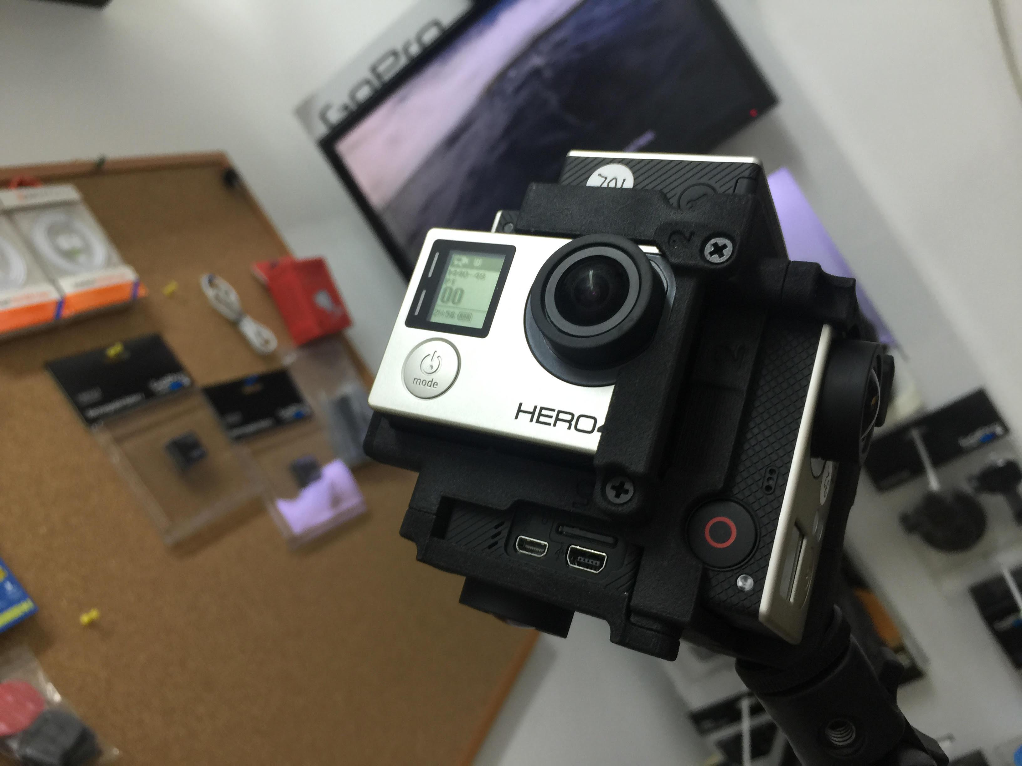 מתקן לצילום וידאו ב 360 מעלות