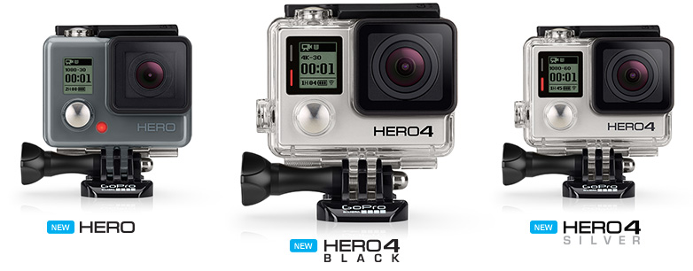 gopro 4 cameras